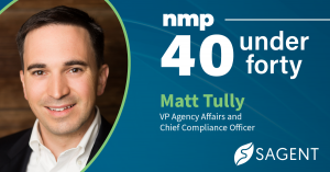 Sagent Compliance Chief Matt Tully Named NMP 40 Under 40 Most Influential